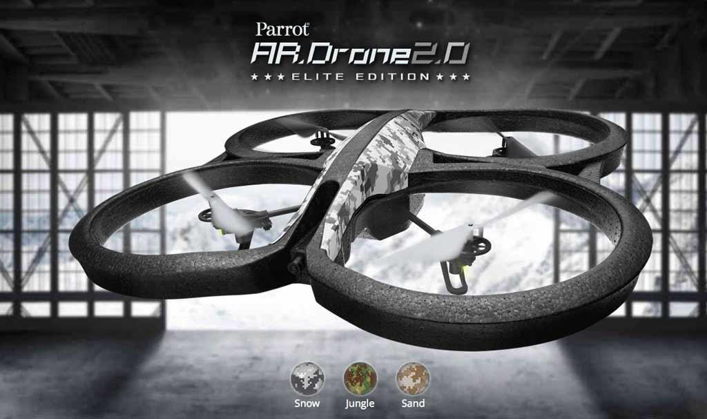 dron parrot ar 2.0