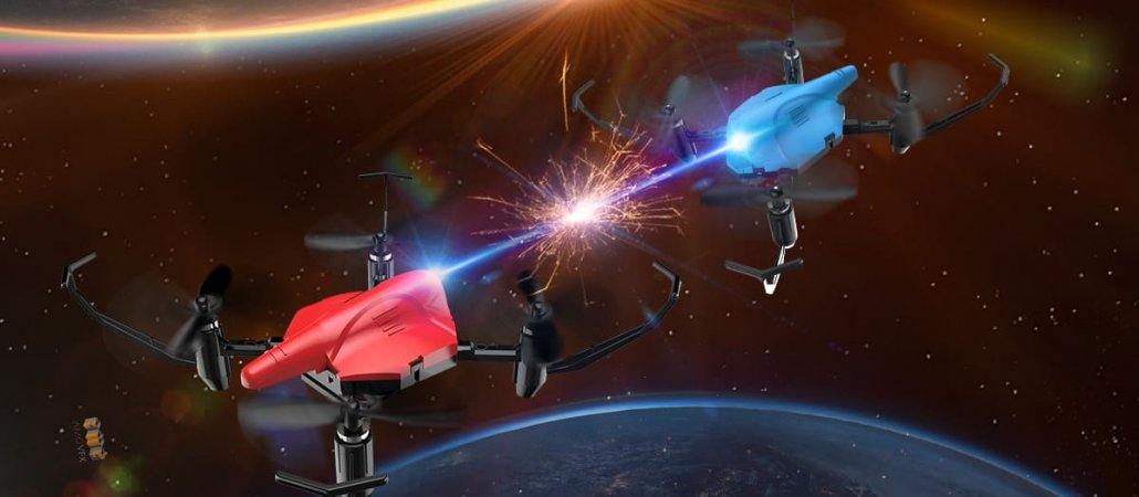 Dron ruso intercepta en la órbita probable dron de