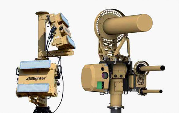 dispositivo antidrones del ejercito