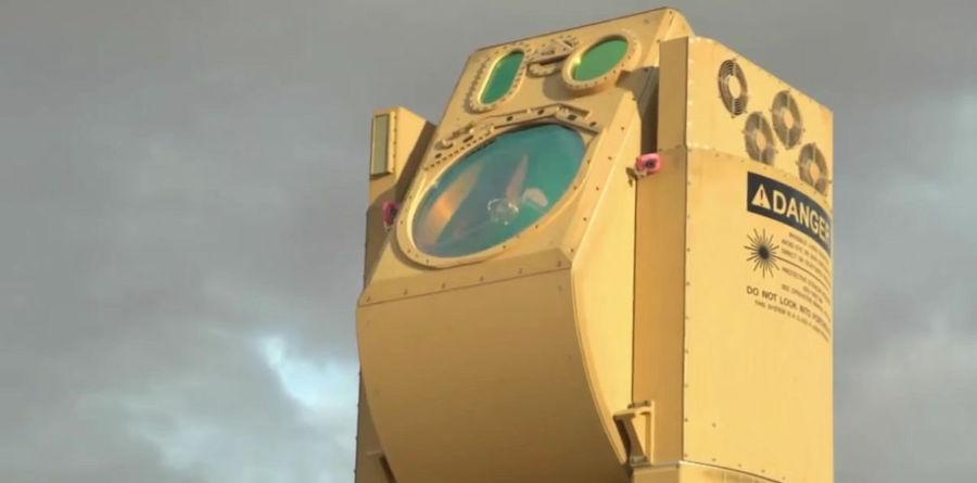 cañon militar usado para derribar drones