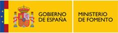 logo del ministerio de fomento, gobierno de espana