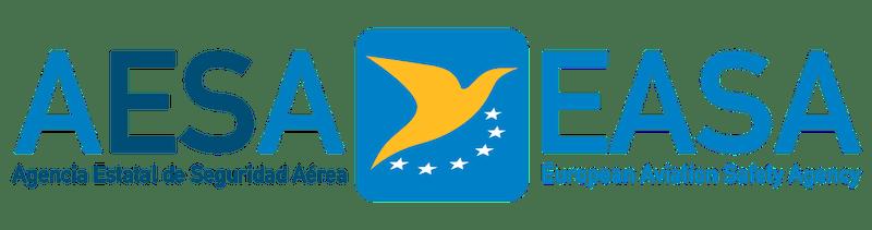 logo easa european aviation safety agency, aesa agencia estatal de seguridad aerea