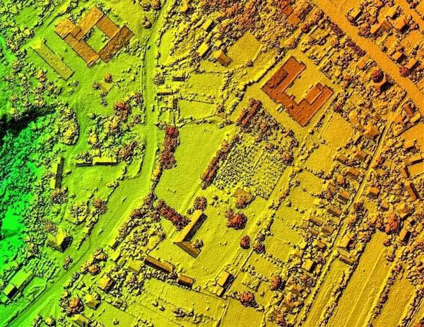imagen fotogrametrica desde dron